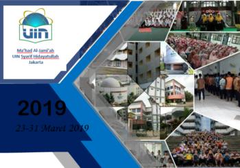 Mahrojan Ma'had Al-Jami'ah UIN Syarif Hidayatullah Jakarta: 23-31 Maret 2019